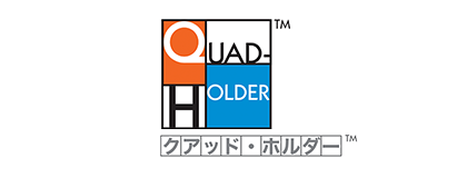 「CABG血管把持器具クアッド・ホルダー™」は冠動脈大動脈バイパス移植術(CABG)時のグラフトを4パターンの把持が可能な鉗子です。鉗子先端の特殊な形状によって、使用するグラフトに応じた自由度の高いサポートが可能です。